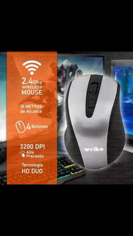 Mouse gamer inalambrico nuevo