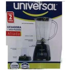 Licuadora universal + vaso pica todo