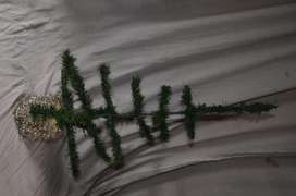 arbol de navidad 75 cm base de madera