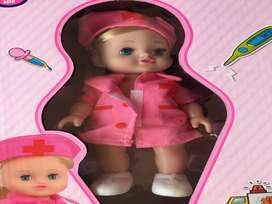 Set de muñeca maletín doctor niña navidad regalo