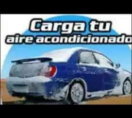 Oferta carga de aire acondicionado automotor