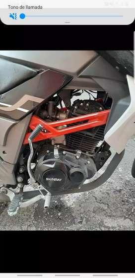 shineray gp 200 excelente moto tipo naked dos cascos