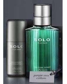 Nuevo Kit Solo Perfume + Desodorante Para Hombre De Yanbal