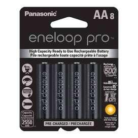Baterías AA Panasonic Eneloop Pro x8