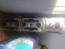 TV y equipo de sonido baratos
