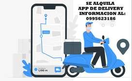 SE ALQUILA APP DE DELIVERY