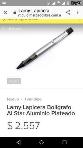 Bolígrafo Lapicera Lamy