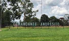 Vendo campo en Mnes. Andresito