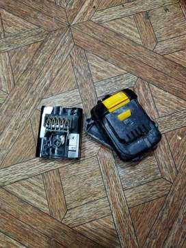 Batería taladro inalámbrico dewalt