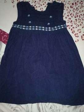 Vestido azul turquì