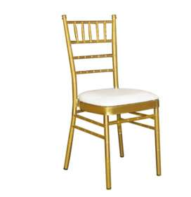 Sillas Chivary o sillas Tiffany en alquiler