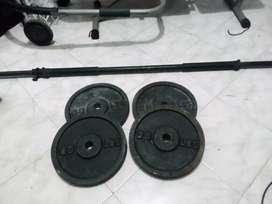 mancuernas pesas discos gym