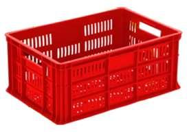Se venden 60 Canastillas Plasticas de segunda en buen estado para empacar Alimentos