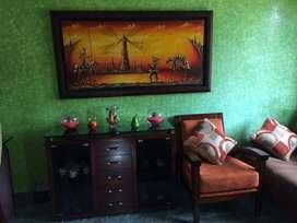 Vendo Sala Comedor, Muebles Alcoba, lavadora, Nevera, Pinturas y otros.