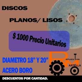 DISCOS DE ARADO