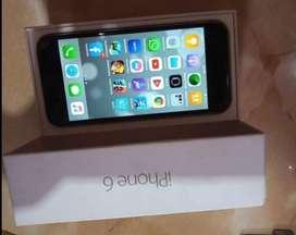 Se vende iphone 6 con caja y cargador