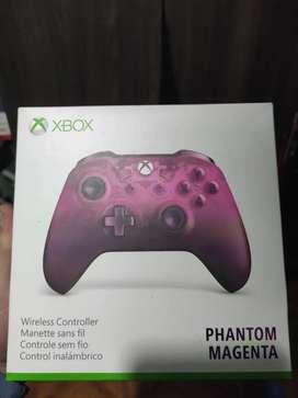 Control Xbox one edición magenta nuevo