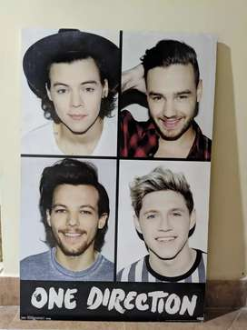 ¡CUADRO ONE DIRECTION EN MADERA!