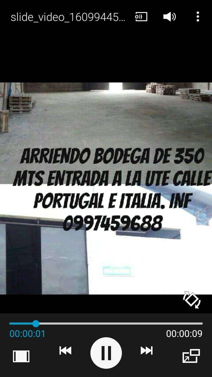BODEGA DE ARRIENDO 0
