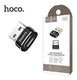 Adaptador USB a tipo C Hoco