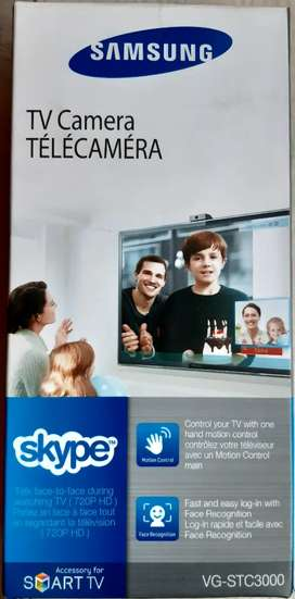 VENDO CAMARA HD (720P)SMART TV SAMSUNG (SKYPE)