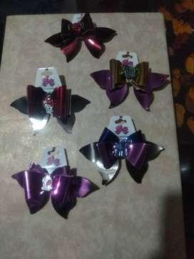 Moños para niñas artesanales