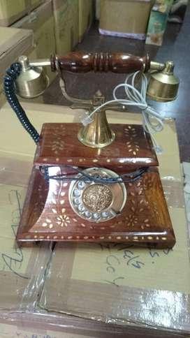 telefono fijo analogico funciona a disco unico.