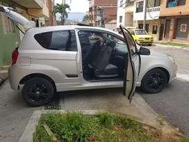 Chevrolet aveo gT modelo 2012