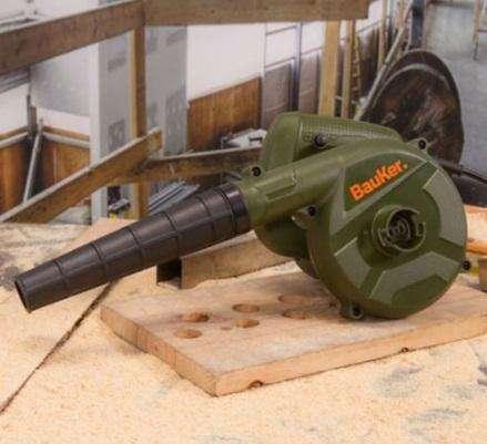 Pistola Para Soplar Y Aspirar Bauker 600w 16000 Rpm NUEVO