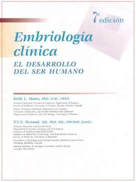 Libro de Medicina. Moore 7ed - Embriología clínica.