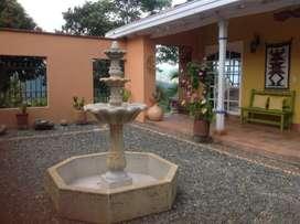 Alquiler finca en Fredonia, Antioquia. Caja de Oro