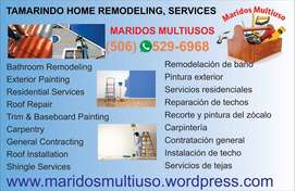 Tamarindo Home Remodeling Services, Home Construction