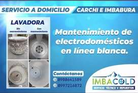 Imbacold servicio técnico en línea blanca para Imbabura y Carchi