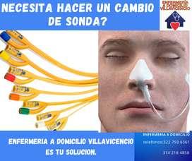 CAMBIO DE SONDA A DOMICILIO VILLAVICENCIO
