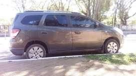 Vendo en Ctes Capital Chevrolet Spin2013.IMPECABLE