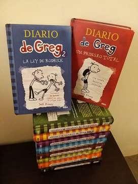 Diarios de Greg, colección del 1 al 10