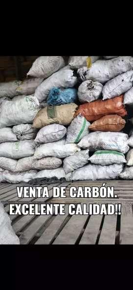 Venta de carbón vegetal.