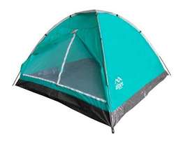 Carpa 4 Personas Dome Azul Galápagos 210 X 210 X 130CM NUEVO