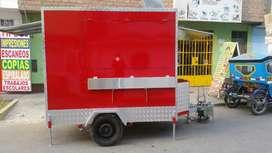 Remolques Food Truck para Comidas