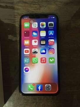 Vendo iPhone X 64 GB 100 % original libre de todo.