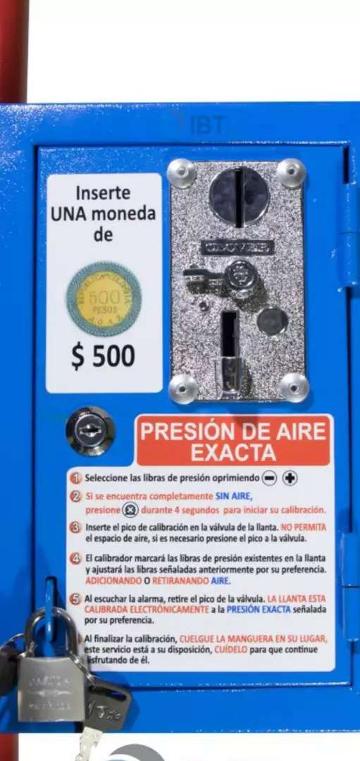 Calibrador de aire digital con monedero marca STOK AIR 0