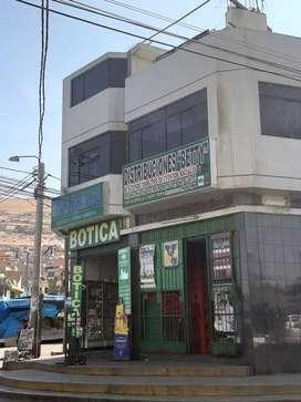 Se alquila local comercial en plena esquina de la Salida Tarata