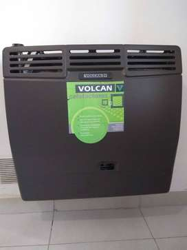 CALEFACTOR VOLCAN MODELO 46312VN TIRO BALANCEADO 5700 KAL/H USADO EN EXCELENTE ESTADO