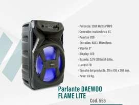 "Parlante Daewoo Flame Lite 8"" NUEVO"