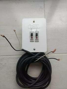 Cable eléctrico encauchetado x 8 mts