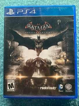 Vendo juego para PS4 batman arkham knight (usado)