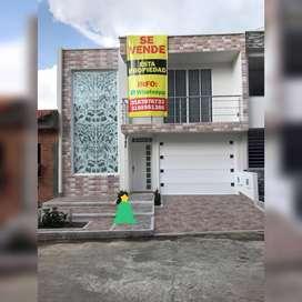 VENDO hermosa casa para ESTRENAR barrio albergue Buga casa d2 planta