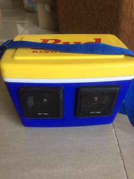 Cooler con sonido