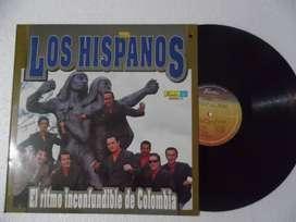 Los Hispanos – El Ritmo Inconfundible De Colombia. Lp. Vinilo