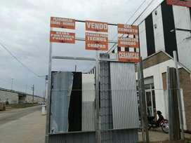 Oferta en Chapas Sinusoi, Trapezoi, Portuguesas, Lisas.
